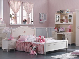 梦中甜蜜的唯美床