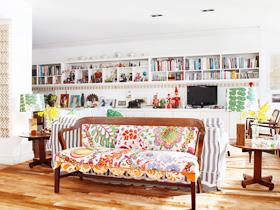 创意元素 始于客厅布艺沙发