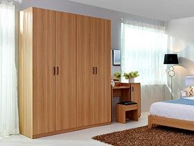 清新自然 11个原木色衣柜