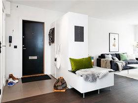 黑色布艺创意经典沙发