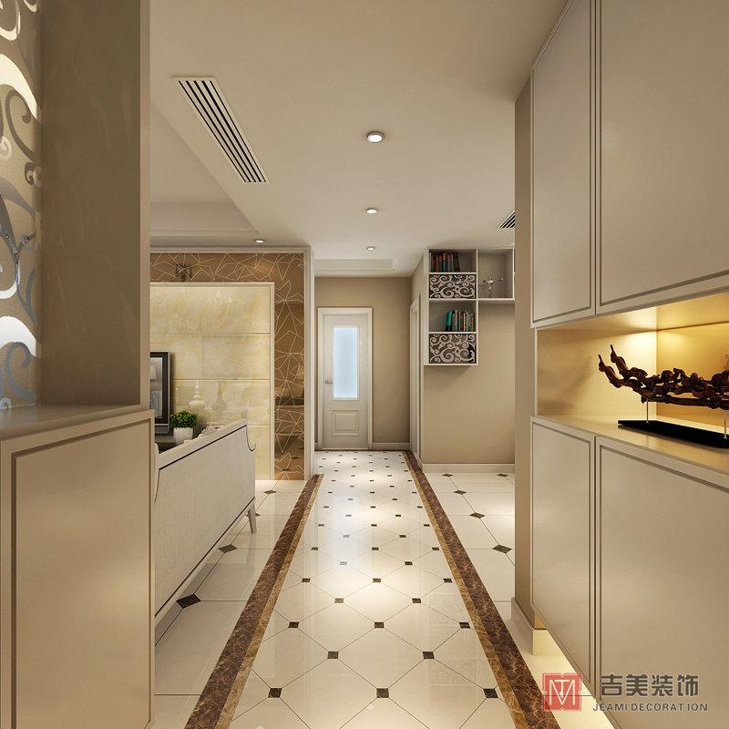15 20万130平米简约三居室装修效果图,恒盛豪庭3房装修案例效果图 高清图片