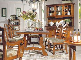 6款实木餐桌 造最实用餐厅