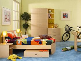多彩多姿的兒童生活空間 給孩子多彩多姿的童年