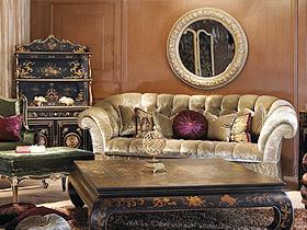 9圖闡述歐式家具在家中的作用
