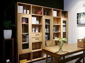10款经典书房设计  感受原始原木风
