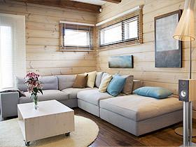 简约质感生活 文艺范十足的客厅装修
