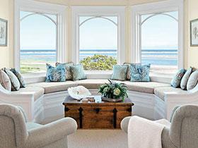 23個美式轉角飄窗 讓你在家享受日光浴