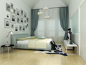 18款卧室吊顶 给你一个浪漫的休憩天地