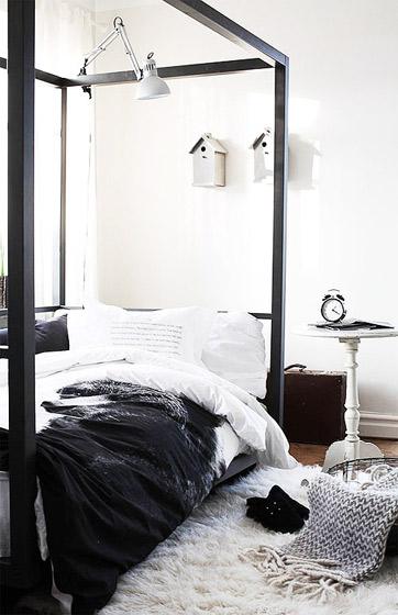 北欧风格简洁卧室设计图
