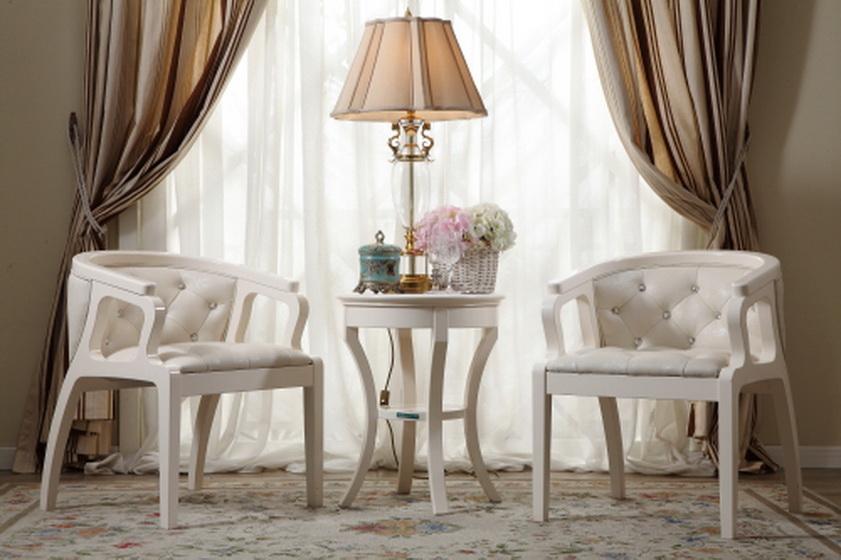 现代简约风格舒适白色客厅沙发图片