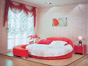特色圆形床  可爱时尚