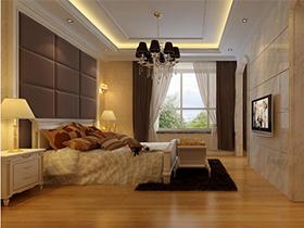 柔和轻松洁净的卧室家具