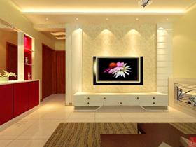 华丽的背景 高贵的客厅