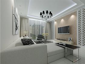 豪华动感多变的客厅沙发