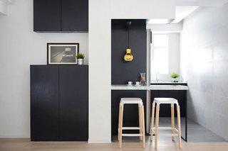 现代简约风格简洁吧台设计