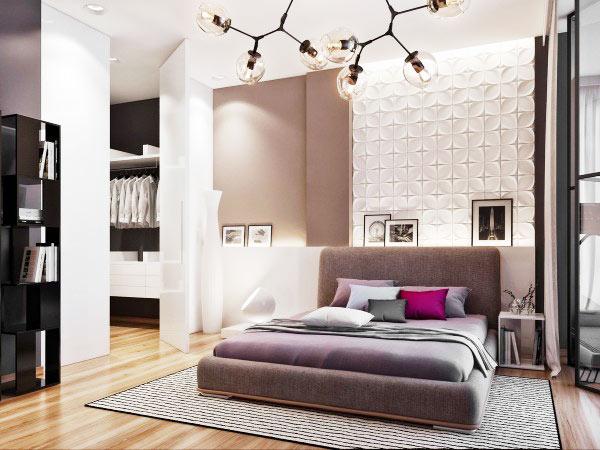 简约风格实用卧室设计图
