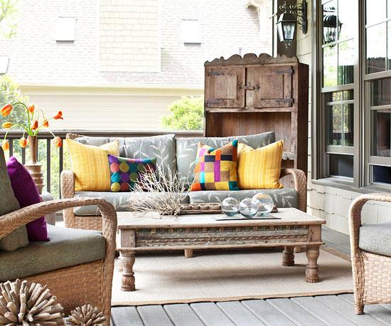 现代简约风格简洁阳台设计