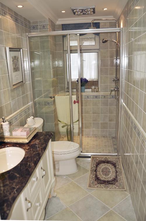 小户型卫生间装修效果图欣赏
