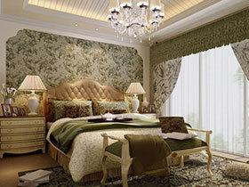 温馨典雅 15款卧室吊顶欣赏
