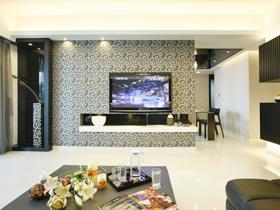 现代的你 搭配现代的客厅