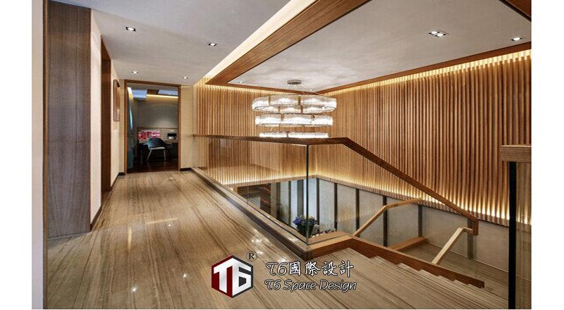 装修设计 上海装修 上海装修案例 中央花园复式洋房效果图图片