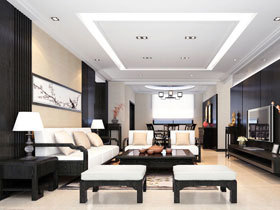 黑色巧缀客厅