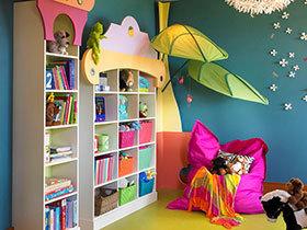 """给玩具找个""""家"""" 21种儿童房特色收纳柜欣赏"""