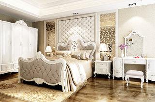 欧式卧室装修效果图大全2014图片
