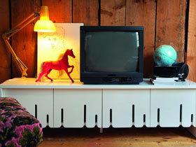 时尚又实用的电视柜图片