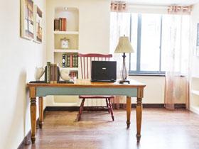 书房吹来海洋风 20款地中海书房设计