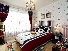 臥室的浪漫氣息 17款地中海式吊頂設計