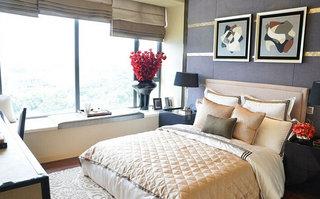 欧式风格大气卧室装修效果图