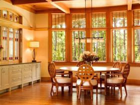 原木生活 17款原木餐厅设计
