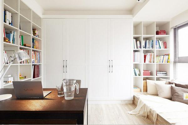 书房装修效果图大全2014图片