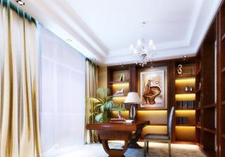 中式风格大气书房装潢