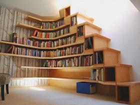 樓梯間的閱讀空間 14款樓梯精彩設計