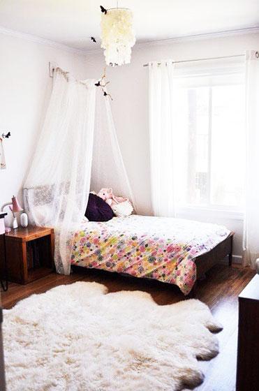 北欧风格简洁卧室效果图