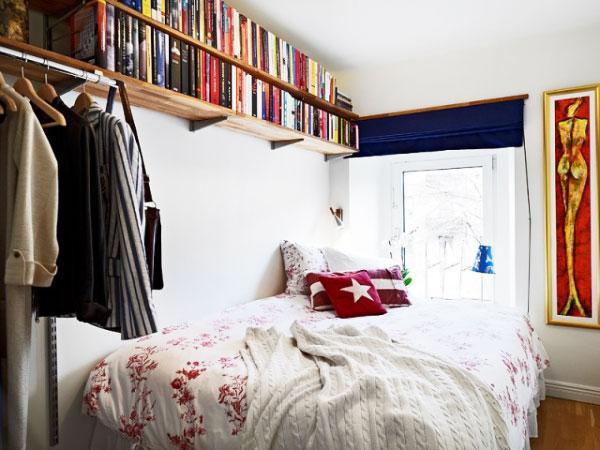 北欧风格简洁卧室装修
