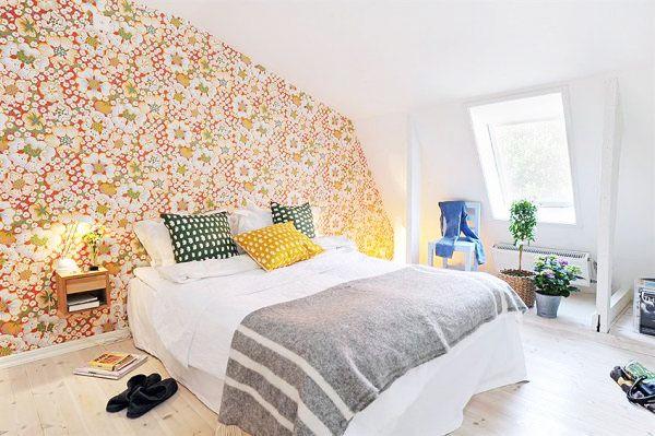北欧风格简洁卧室装潢