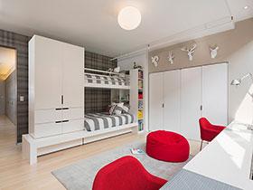 18種兒童房家具搭配 感受浪漫美式風格