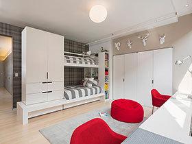18种儿童房家具搭配 感受浪漫美式风格