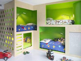 19款美式双层床推荐 两个孩子的完美搭配