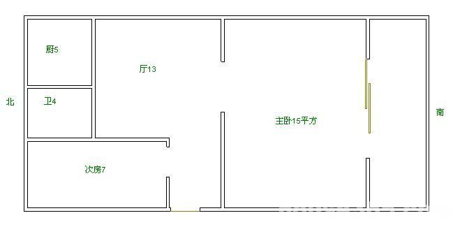 幼儿园教室平面图