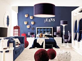 浪漫地中海臥室 18款個性床頭設計