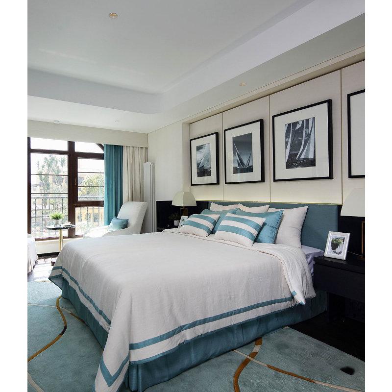 10 15万130平米混搭三居室装修效果图,130㎡东方韵味3居 中西文化高清图片