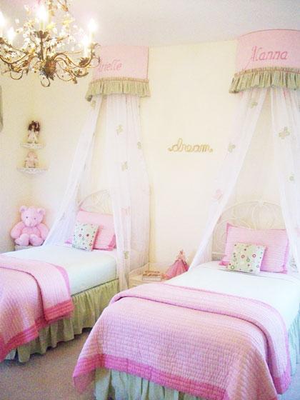 田园风格可爱卧室装修
