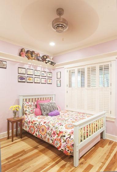 田园风格可爱卧室装修效果图
