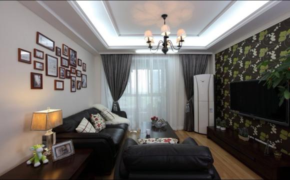 5萬打造80平米美式風格2居室