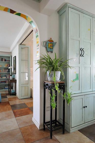 地中海风格公寓90平米效果图