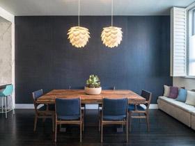 温馨吊灯相伴 16款温馨餐厅效果图